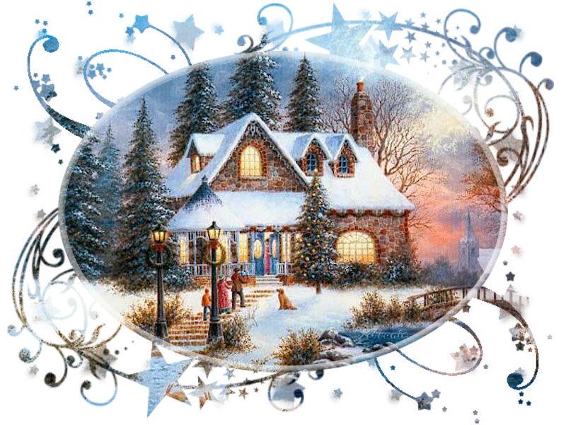 F erique de noel page 117 - Dessiner un paysage d hiver ...